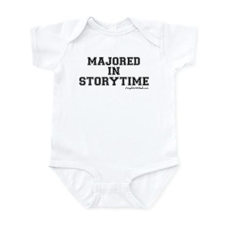 Majored In Storytime Infant Bodysuit