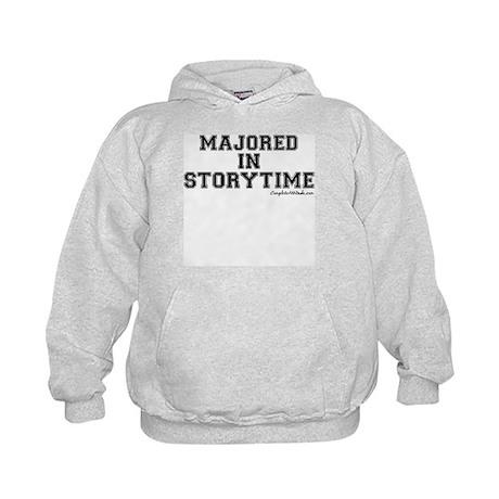 Majored In Storytime Kids Hoodie