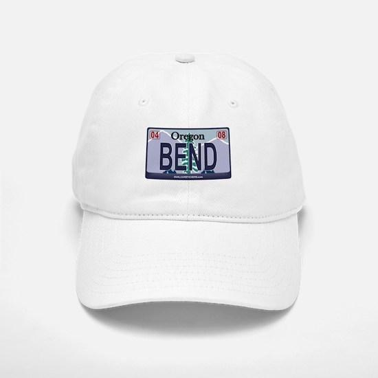 Oregon Plate - BEND Baseball Baseball Cap