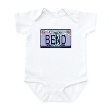 Oregon Plate - BEND Infant Bodysuit