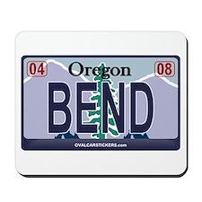 Oregon Plate - BEND Mousepad