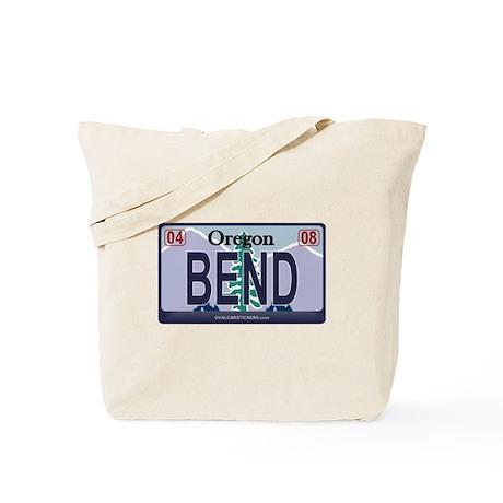 Oregon Plate - BEND Tote Bag