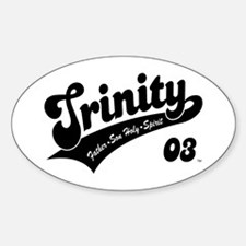 Trinity Oval Decal