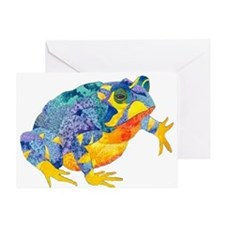 Fire Toad Greeting Card