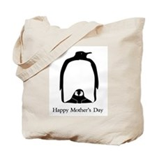 Mother's Day Penguins Tote Bag