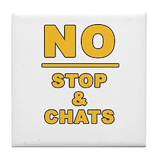Unique Chat Tile Coaster