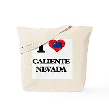 I love Caliente Nevada Tote Bag