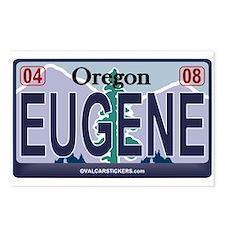 Oregon Plate - EUGENE Postcards (Package of 8)