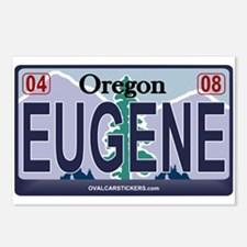 Oregon Plate - EUGENE Postcards (Package of 8)