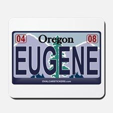 Oregon Plate - EUGENE Mousepad
