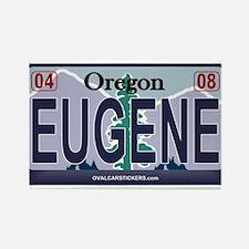 Oregon Plate - EUGENE Rectangle Magnet