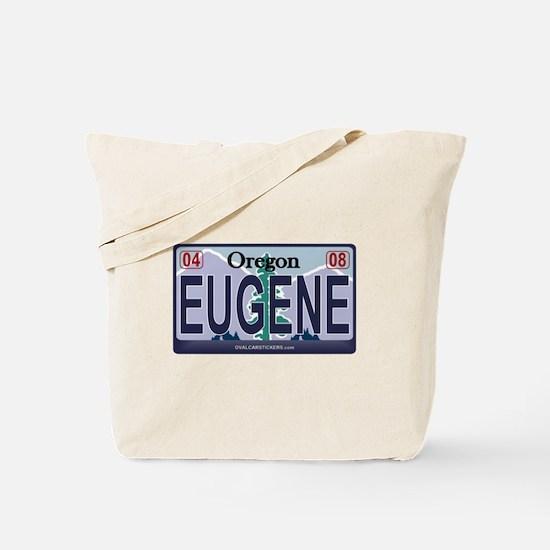 Oregon Plate - EUGENE Tote Bag