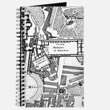 Vintage Map of The Vatican (1914) Journal