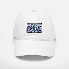 Oregon Plate - PORTLAND Baseball Baseball Cap