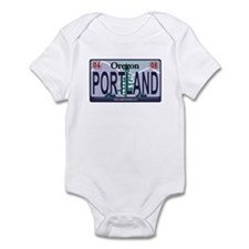 Oregon Plate - PORTLAND Infant Bodysuit