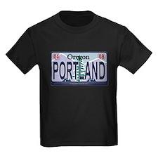 Oregon Plate - PORTLAND T