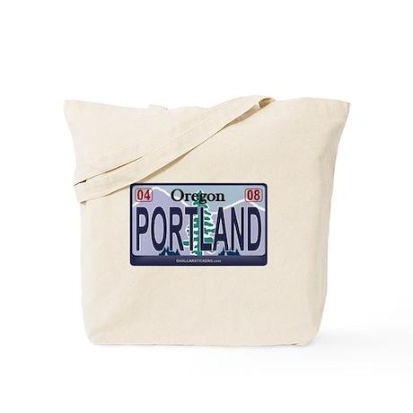 Oregon Plate - PORTLAND Tote Bag