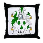 Selioke Family Crest Throw Pillow