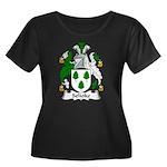 Selioke Family Crest Women's Plus Size Scoop Neck