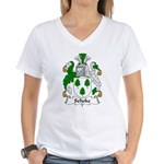 Selioke Family Crest Women's V-Neck T-Shirt
