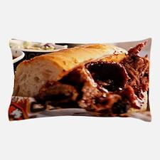 BBQ Beef Brisket Sandwich Pillow Case
