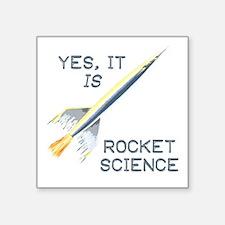 It's Rocket Science Sticker