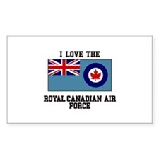 I Love The Royal Canadian Air Force Decal