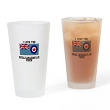 I Love The Royal Canadian Air Force Drinking Glass