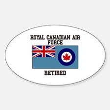 Royal Canadian Air Force Retired Decal