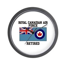 Royal Canadian Air Force Retired Wall Clock