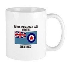 Royal Canadian Air Force Retired Mugs
