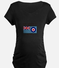 Royal Canadian Air Force Retired Maternity T-Shirt