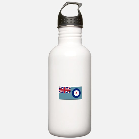 New Zealand Air Force Flag Water Bottle