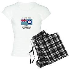 I Love The Royal New Zealand Air Force Pajamas