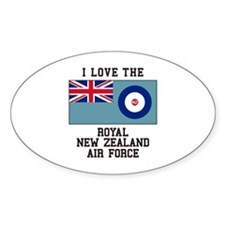 I Love The Royal New Zealand Air Force Decal