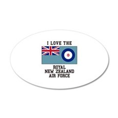 I Love The Royal New Zealand Air Force Wall Decal