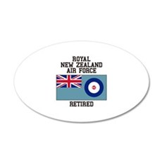 Royal New Zealand Air Force Retired Wall Decal