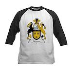 Seddon Family Crest  Kids Baseball Jersey