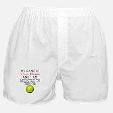 Tennis Addict Boxer Shorts