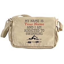 Swimming Addict Messenger Bag