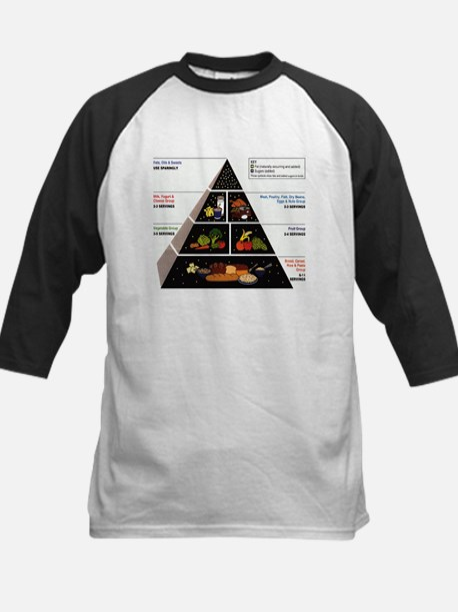 Food Pyramid Baseball Jersey