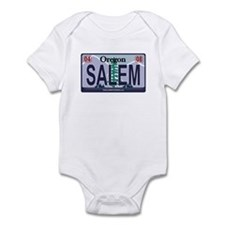 Oregon Plate - SALEM Infant Bodysuit