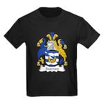 Seaman Family Crest Kids Dark T-Shirt