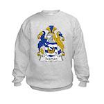 Seaman Family Crest Kids Sweatshirt