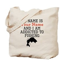 Fishing Addict Tote Bag