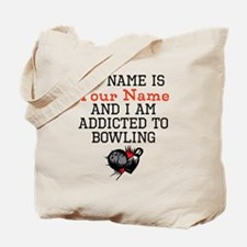Bowling Addict Tote Bag