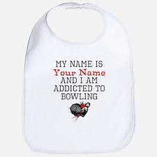 Bowling Addict Bib