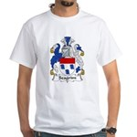 Seagrim Family Crest White T-Shirt