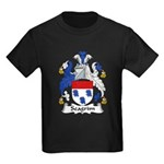 Seagrim Family Crest Kids Dark T-Shirt
