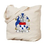 Seagrim Family Crest Tote Bag